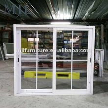 Alibaba Golden Supplier French Style Luxury Double Panel Aluminum Sliding Window