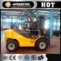 Brand new YTO CPCD25 2.5 ton Rough Terrain forklift for sale in dubai