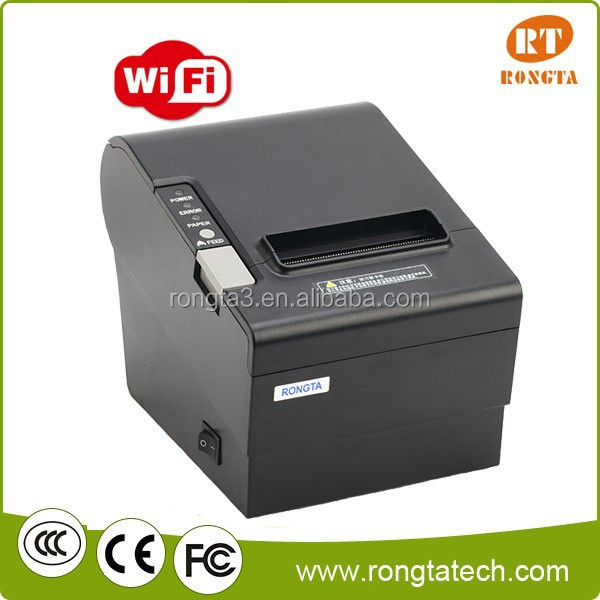 food delivery runner order printing wifi printer for restaurant...