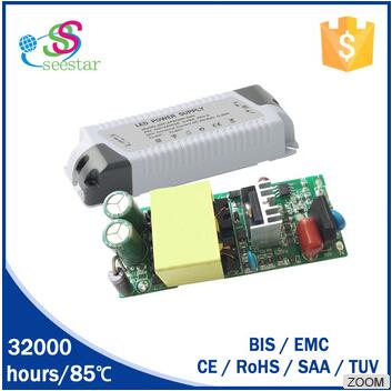 30w 40w 36w 50w high power high efficiency led panel light driver PF>0.9 with OVP led flood light power supply