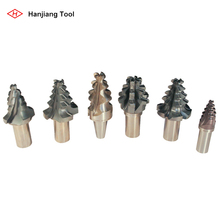 New milling cutters for groove and root of turbine blades and rotor
