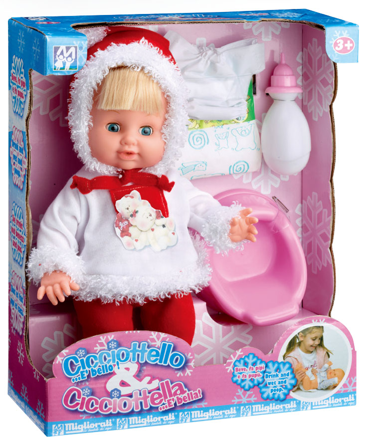 winter design funny ABS lovely electronic crying baby doll with EN71