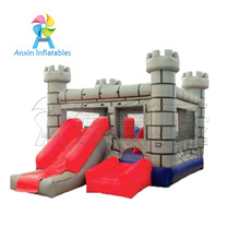 Factory price prince castle type inflatable jumping bed for kids