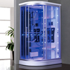HS-SR010 european steam shower,hydro shower cabin,aroma steam bath