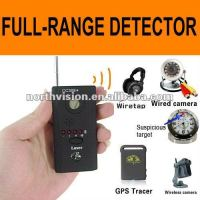 Full -range rf mobile phone camera bug multi- detector