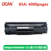 china alibaba short time delivery 4000 Pages 85A toner cartridge box