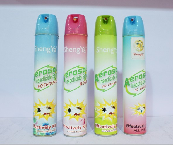 High quality water-base aerosol insecticide spray,insect killer spray,mosquito repellent spray