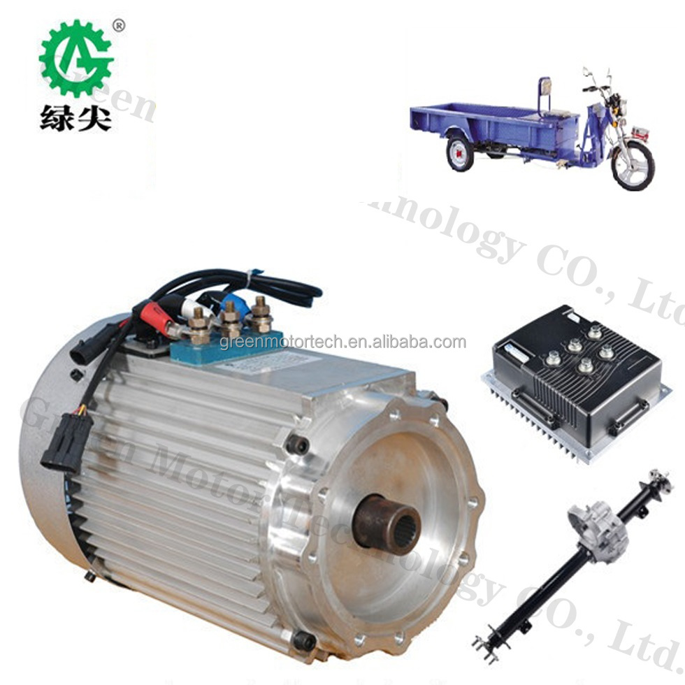 Hot sale superior quality 3kw 48v electric car conversion kits for smart car