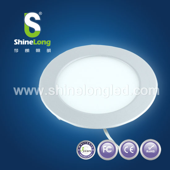 Hot selling Chinese products 5w led round panel light with rechargeable battery for led hanging light