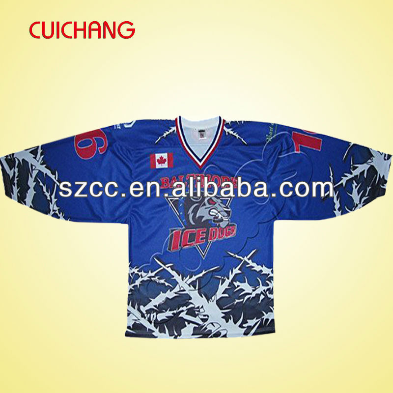Custom team hockey jerseys&ice hockey t shirts&authentic sports jerseys cc-59