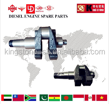 single cylinder diesel engine parts crankshaft