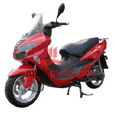 EEC/EPA DOT Approved Gas Motor Scooter Equipped with 4 Stoke 150cc Engine WZMS1525EEC/EPA