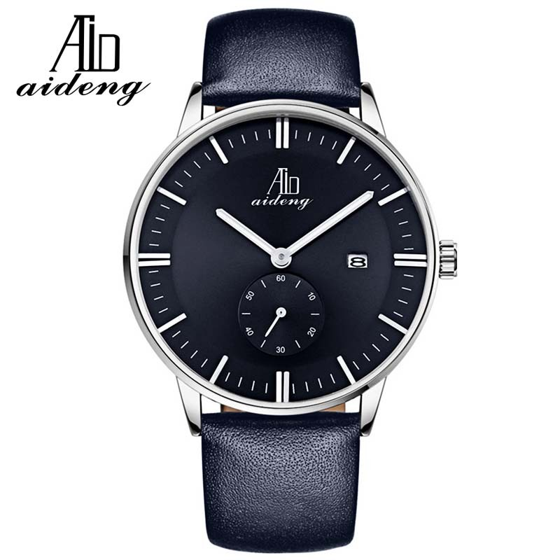 Men Women watches with your own logo for leather /Nylon Quartz Clock