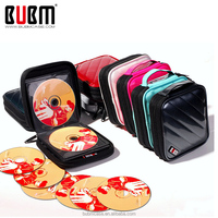 BUBM PU CD/DVD Player Bags DVD Cover CD holder Portable CD carrying case