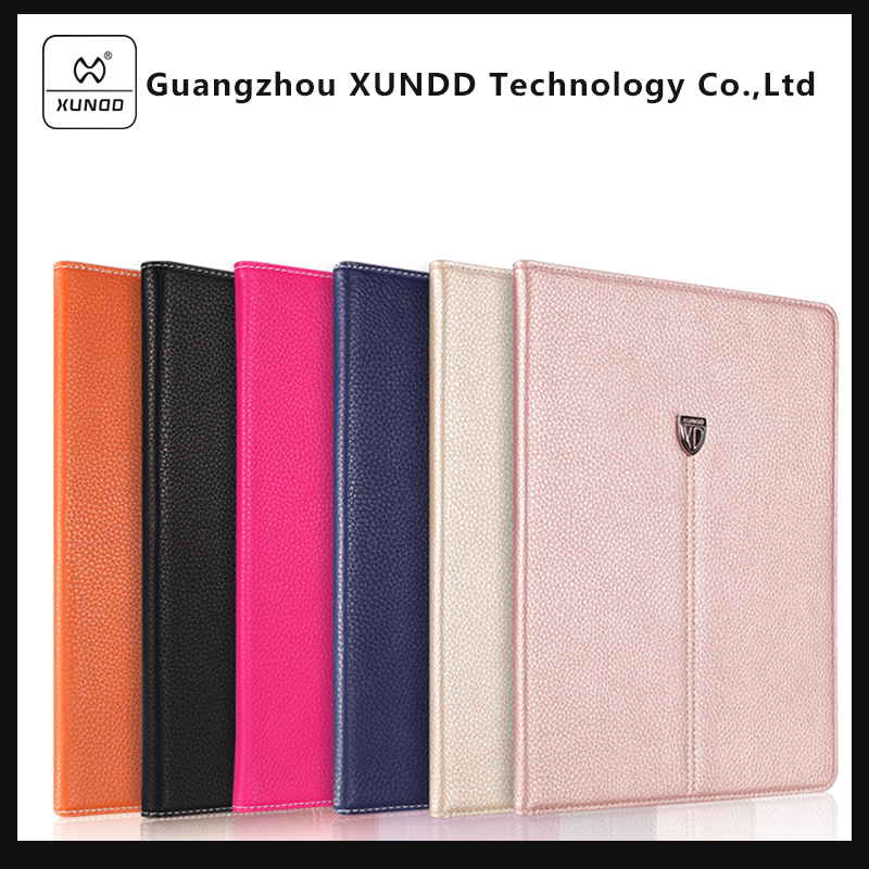 [XUNDD] Fashion Ultra Slim Magnetic Front Smart Case Skin + Hard PC Back Cover For iPad Pro 9.7""