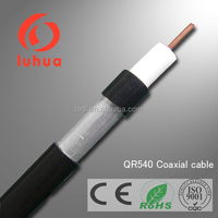 75 ohms QR540 trunk coaxial cable JCAM cable trunking for CCTV CATV TV in communication with CE RoHS ISO9001 approved