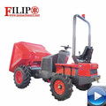 Chinese hot sale high quality hydraulic auto-unloading widely used for agriculture transporting new garden mini dumper