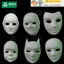 TOP Sales cheap white venetian masks to decorate