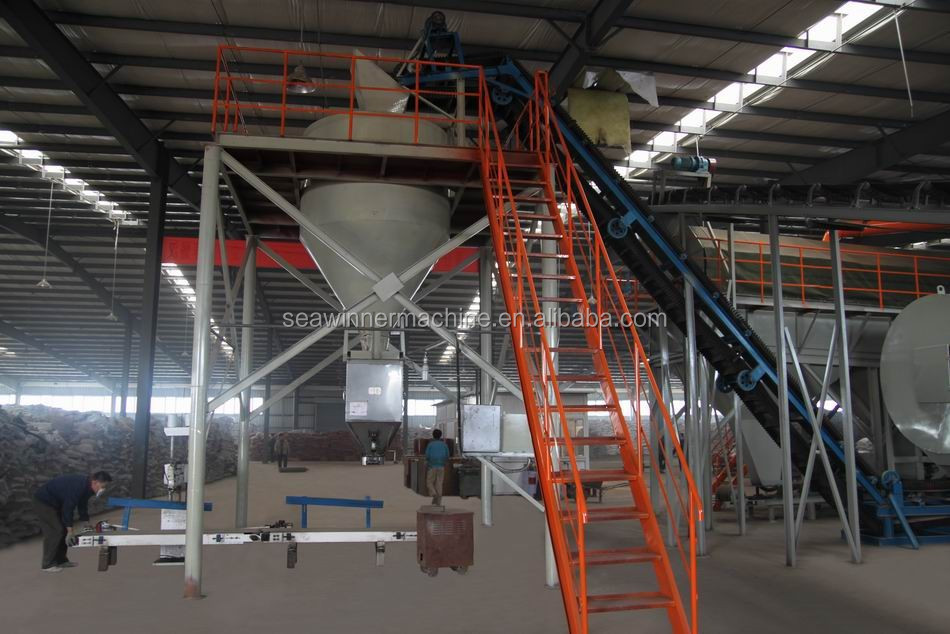 organic fertilizer automatic packing machine
