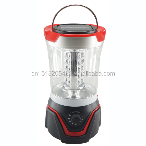 30 LED 3D Solar camping lantern with solar panel