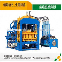 eco block making machine/concrete paving moulds/fly ash building block making plant QT4-15C