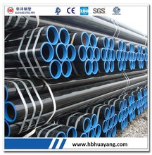 "MS seamless black steel pipe Caron manufacturing process 6"" 168.3mm"