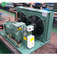 Air cooled Hermetic scroll compressor copeland cold room compressor condensing unit for sale