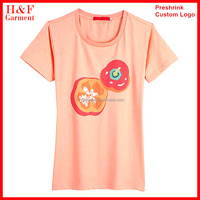 Cotton jersey custom made t-shirts no brand clothing for girl