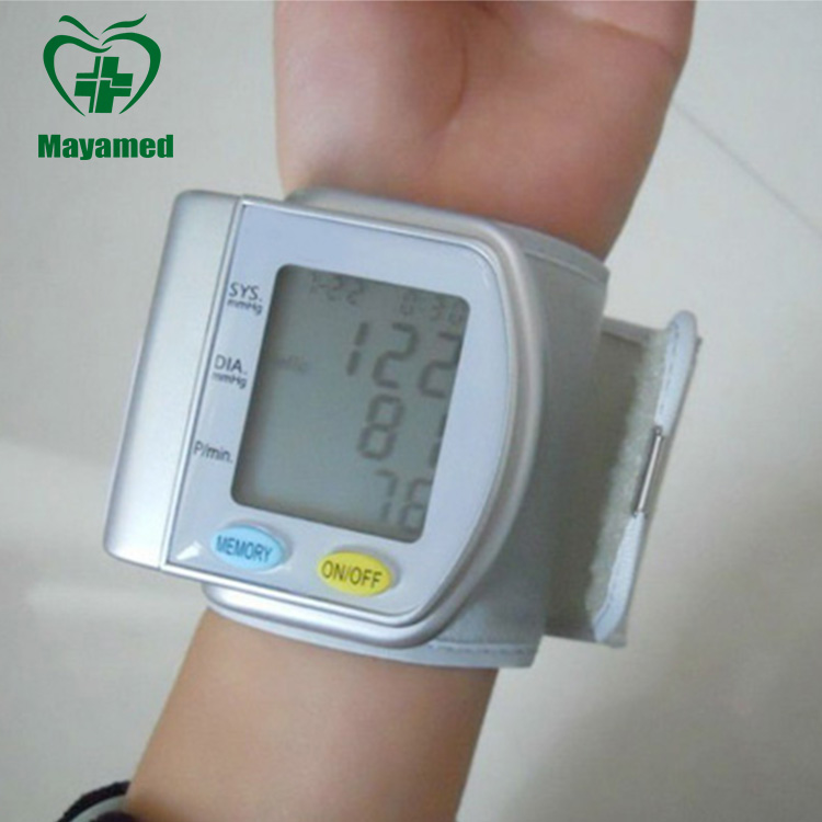 2015 high quality omron digital wrist watch blood pressure monitor for sale