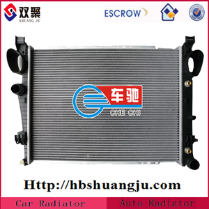 China High Quality Auto Aluminium Radiator For Benzs C-class