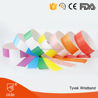7 Colors Assortment - Event Bar Security Party Club 1' Tyvek Wristbands /Wrist Bands /Braclets