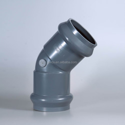 45 degree pvc elbow pvc 3 way elbow pvc pipe fitting 90 degree elbow