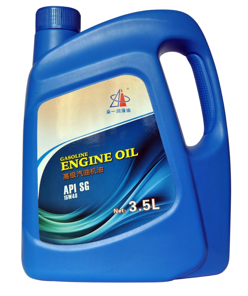 Best Gasoline Engine Oil API SG SAE 15W40 Lubricant