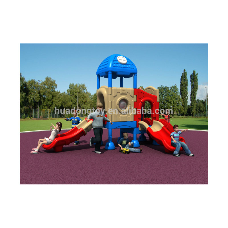 Outdoor cheap plastic children playground slide <strong>equipment</strong>