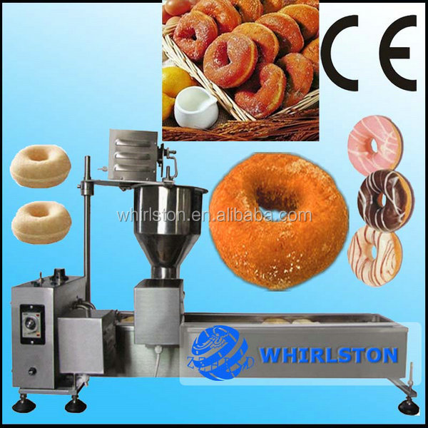 (CE) HOT BIG DISCOUNT Automatic stainless steel home donut doughnut machine <strong>line</strong>