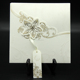 New arrival flower wedding cards hot sale/ Unique luxury wedding invitation card wholesale