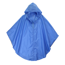 Long PVC PE Disposable Waterproof Motorcycle Poncho Rain Coat