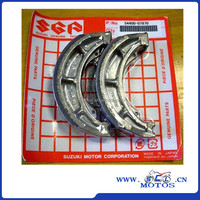 SCL-2013120876 motorcycle auto brake shoes for Suzuki motorcycle