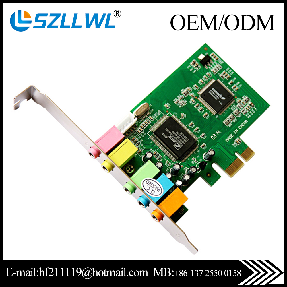 CMI8738 chipset 6CH PCI express 5.1 Sound Card
