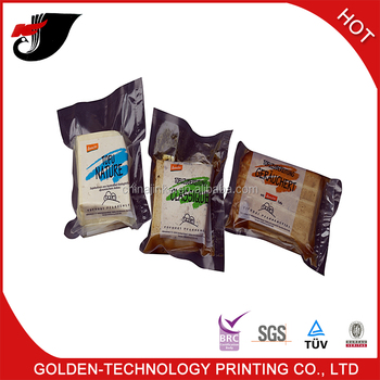 Nylon vacuum seal frozen food packaging bag