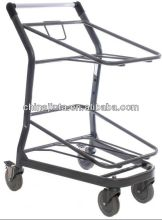 4 wheel folding supermarket shopping trolley&cart
