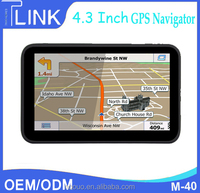 car navigation gps in europe & south america fm 8GB/256M ddr/800mhz car navigation and entertainment system M-40