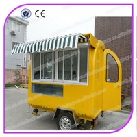 Fast food hamburgers carts food cart/Mobile Food Cart for sale