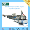 mosaic flat dripper water saving drip irrigation hose extrusion line