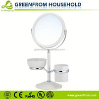 7 Inch Fashion Hand Held Plastic Mirrors