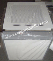 HVAC ventilated cleanroom Module Hepa filter Box HEPA ceiling Module Cleanroom cabinet
