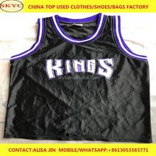 high quality sorted summer used clothing second hand clothes in bulk wholesale cheap used clothes in China