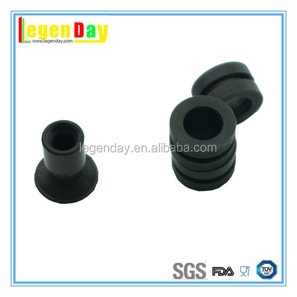 Custom small silicone rubber buttons machine parts