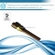 Air conditioner parts 1/4 access valve/pin valve/charging valve