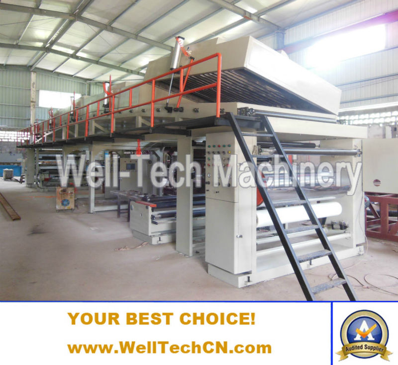 Paper PE film coating machine from China most professional machinery manufacturer